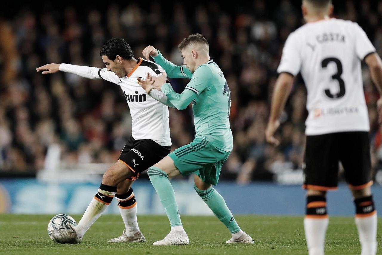 La última vez que el Valencia ganó en el Bernabéu
