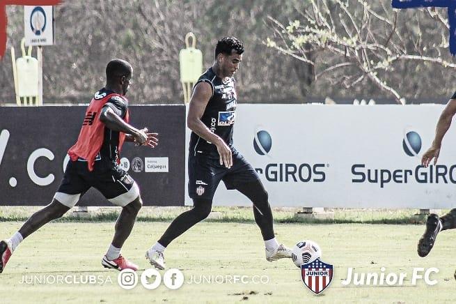Convocados del Junior para su primer partido de fase de grupos por Copa Libertadores