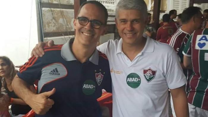 """Pedro Abad: """"Se o direito do Fluminense for atacado, vamos à briga"""""""