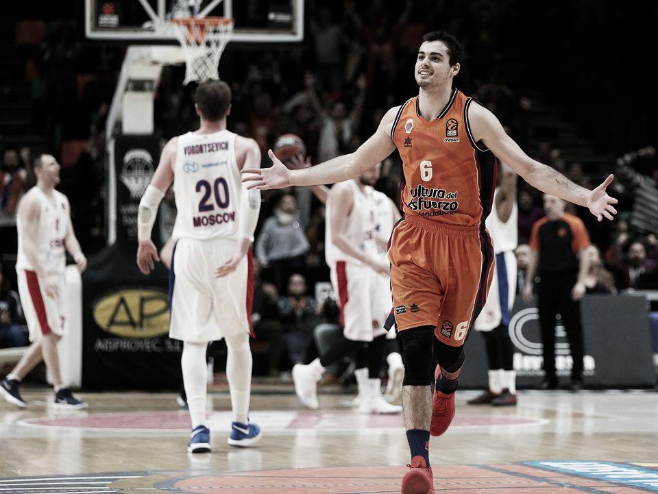 Previa Valencia Basket - CSKA: El conjunto ruso comenzará la defensa de su título en la Fonteta