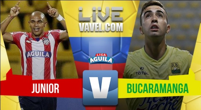 Junior ganó y complica a Bucaramanga (3-1)