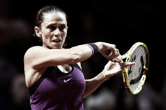 WTA Stuttgart: Roberta Vinci inches past Ekaterina Makarova in three grueling sets