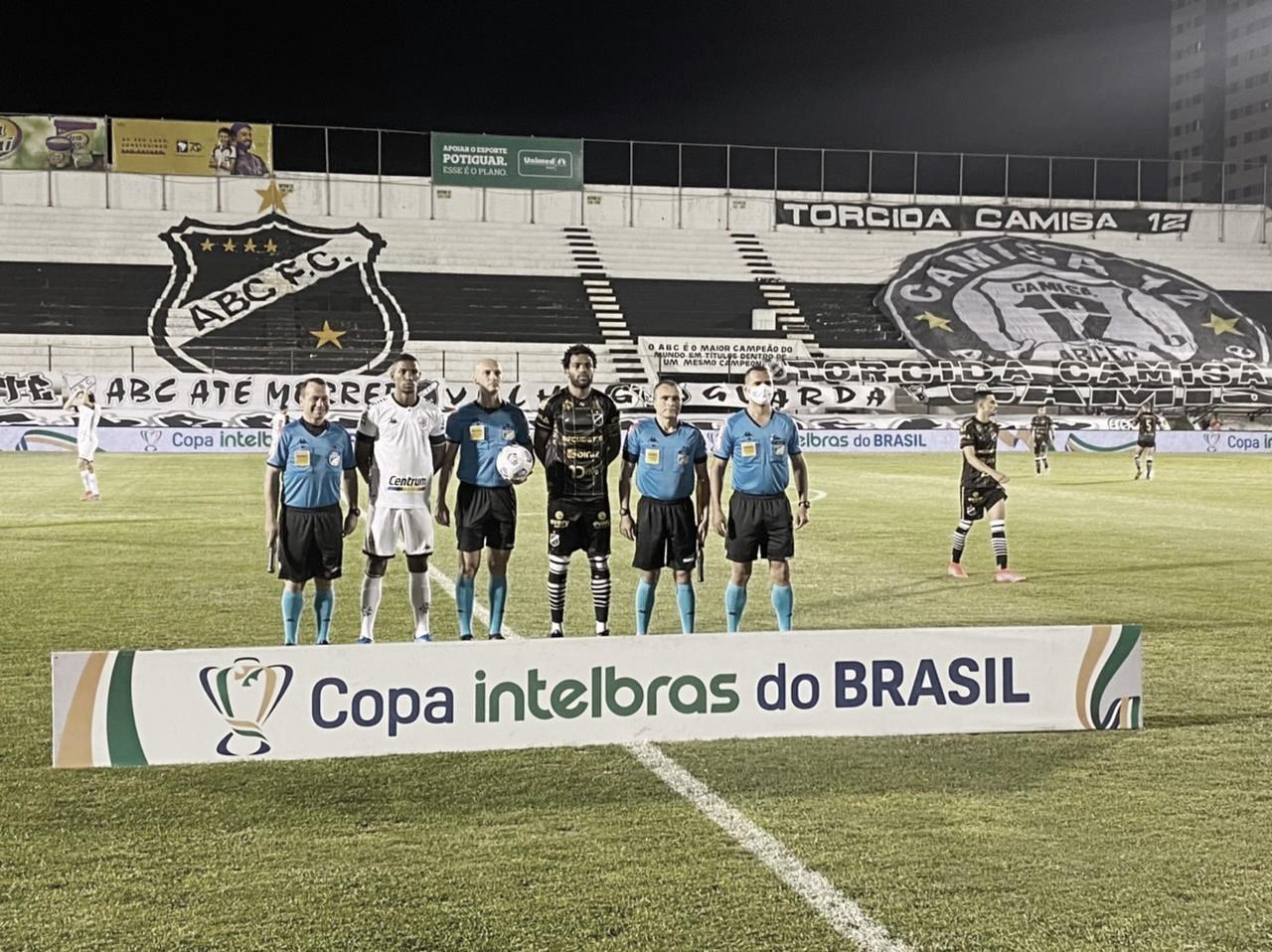 Gols e melhores momentos de ABC 1x1 Botafogo pela Copa do Brasil (4-1 nos pênaltis)