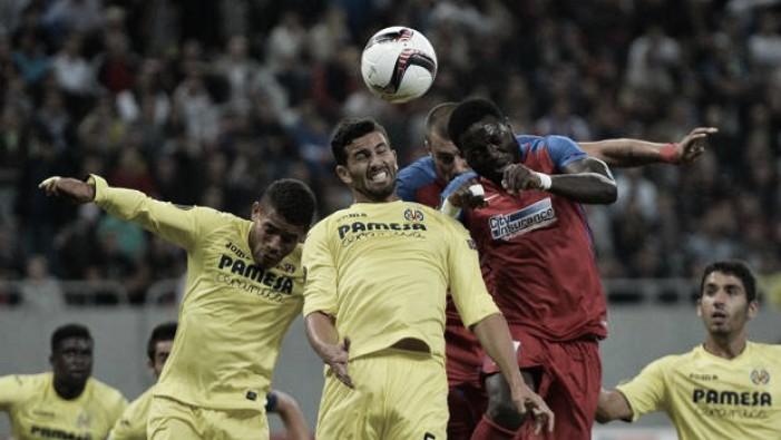 El Villarreal empata en Rumanía en un flojo partido