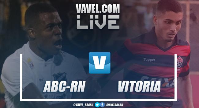 Resultado Abc e Vitoria pela Copa do Nordeste 2019