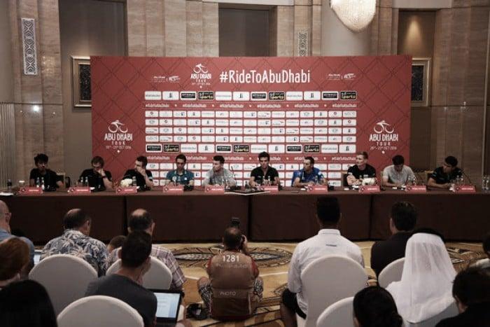 Abu Dhabi Tour 2016, la conferenza stampa di presentazione