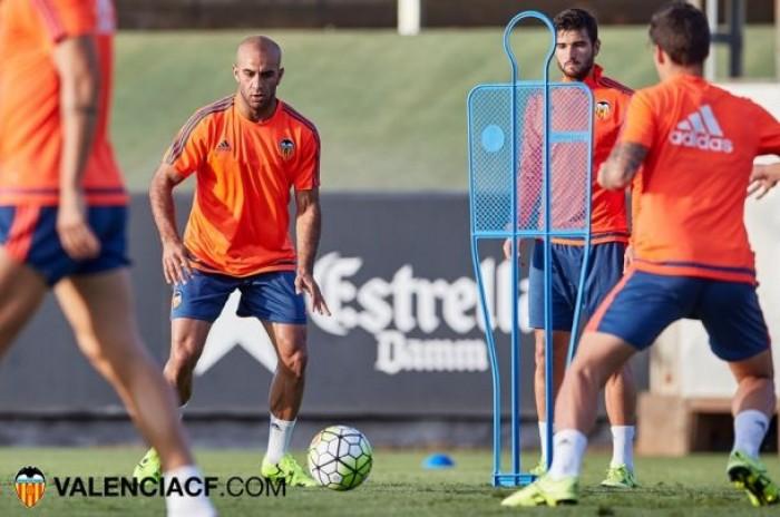 El valencia cf se entrena en paterna y prepara el partido - El tiempo en paterna valencia ...