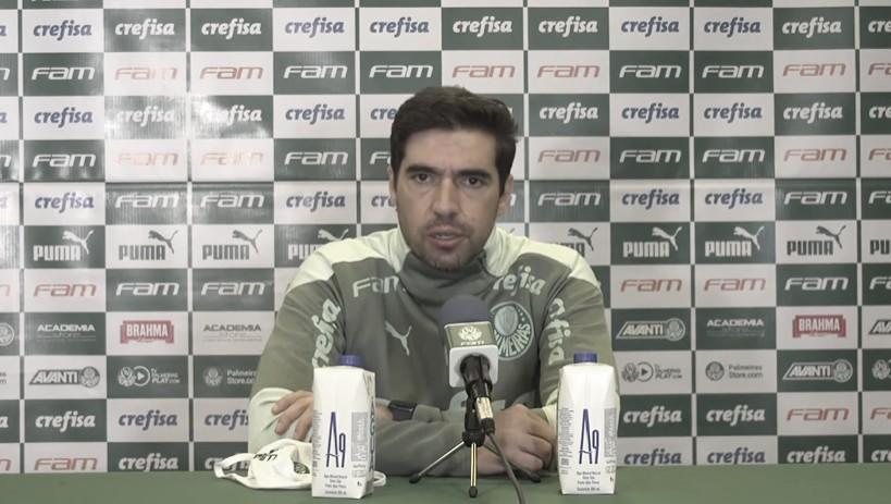 """Abel Ferreira reclama de resultado do Palmeiras contra o Corinthians: """"Perdemos dois pontos"""""""