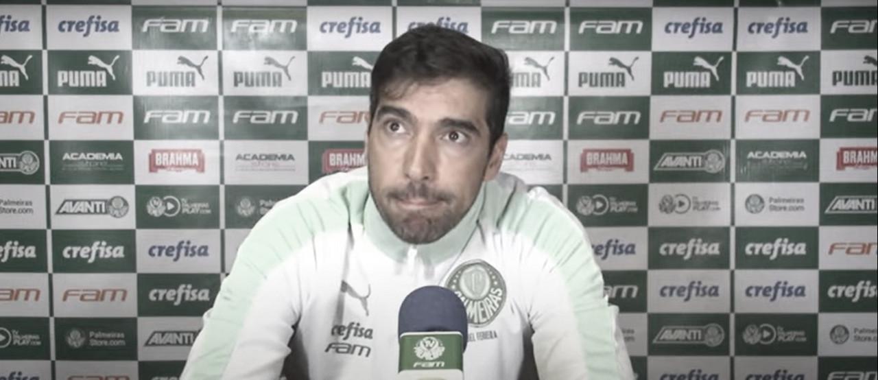 """Abel Ferreira valoriza Palmeiras após vice para São Paulo: """"Não foi melhor que nós em nada"""""""