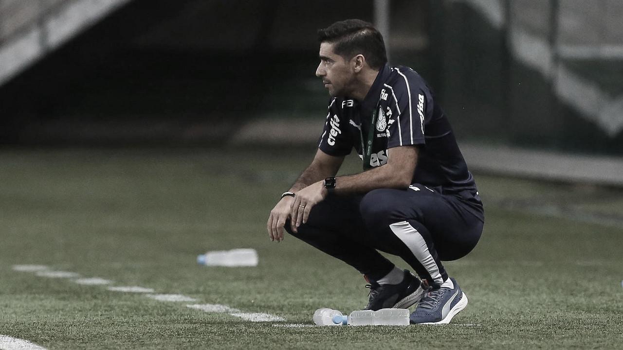 Abel Ferreira em Palmeiras 0, River Plate 2 (Foto: Divulgação / SE Palmeiras)