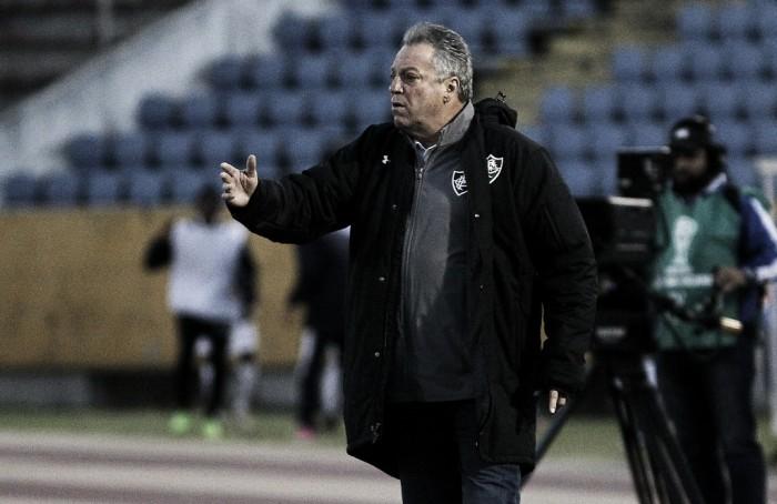 Abel Braga celebra classificação e exalta equatorianos do Fluminense