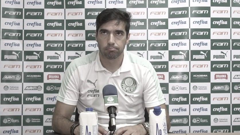 Abel exalta diretoria do Palmeiras, elogia Felipe Melo e alfineta Gustavo Scarpa