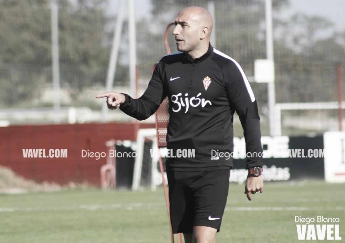 """Abelardo a El Comercio: """"Si el Sporting gana los tres últimos partidos, sube"""""""