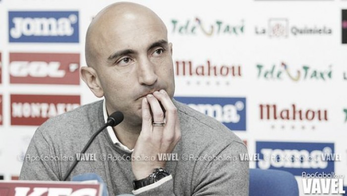 """Abelardo: """"Creo que hará falta estar por encima de los 35 puntos para lograr la permanencia, pero nunca se sabe"""""""