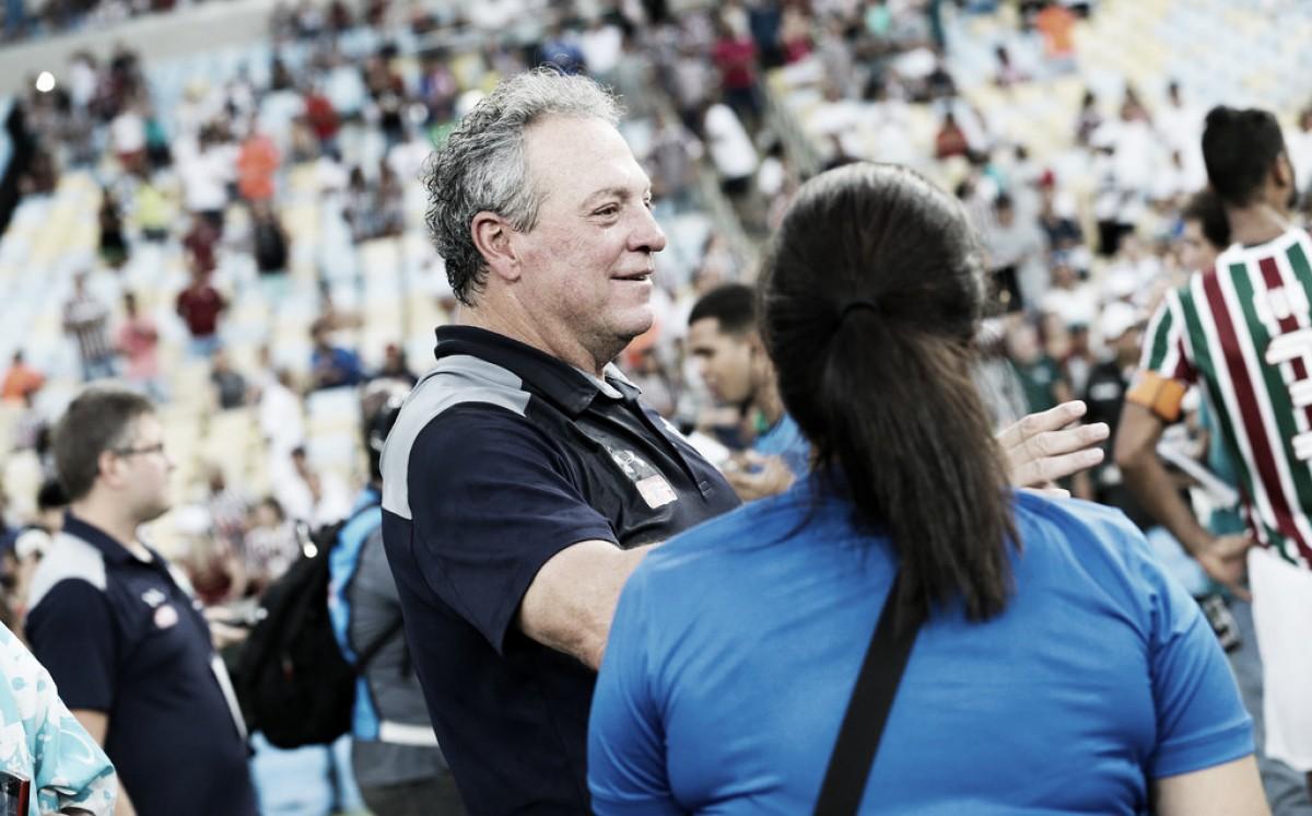 Abel vibra com título da Taça Rio e destaca 'alma' do Fluminense: ''Surpreendente''