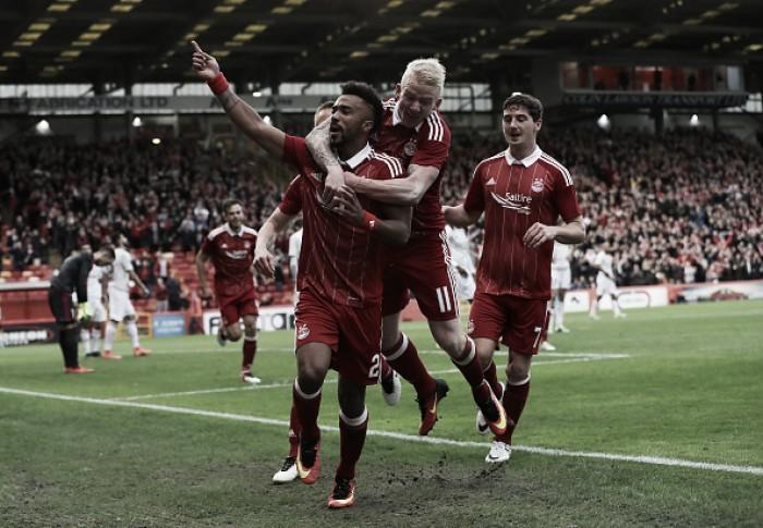 Com dois gols no fim, Aberdeen vence Fola Esch e abre vantagem na Europa League