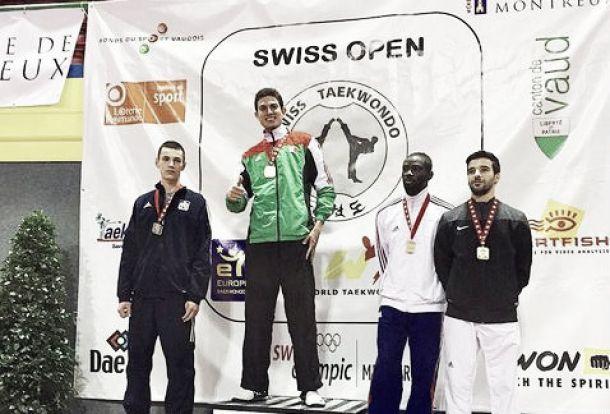 Cuatro medallas para México en Abierto de Taekwondo de Suiza