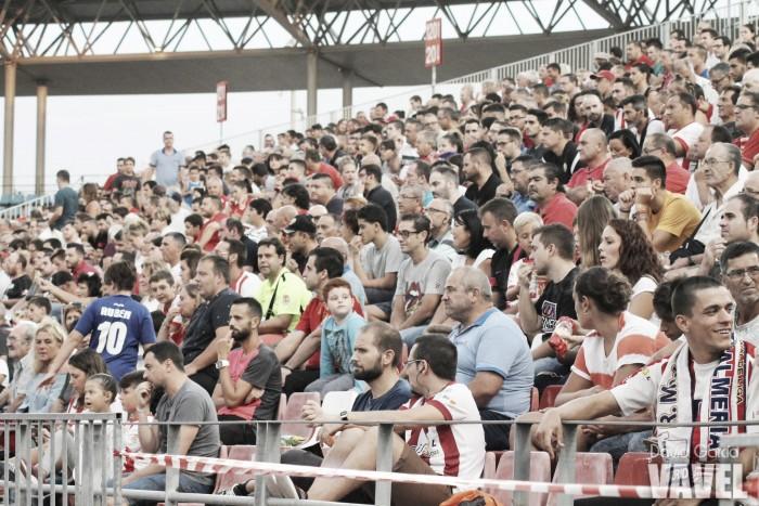 El Almería activa la opción de liberar asientos para sus abonados