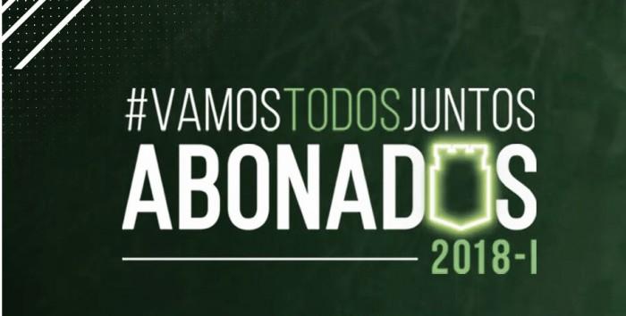 Nacional lanzó su plan de abonos para el 2018-I