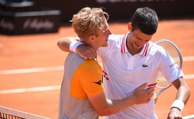Summary and highlights of Djokovic 2-0 Davidovich at Tennis Tokyo 2020
