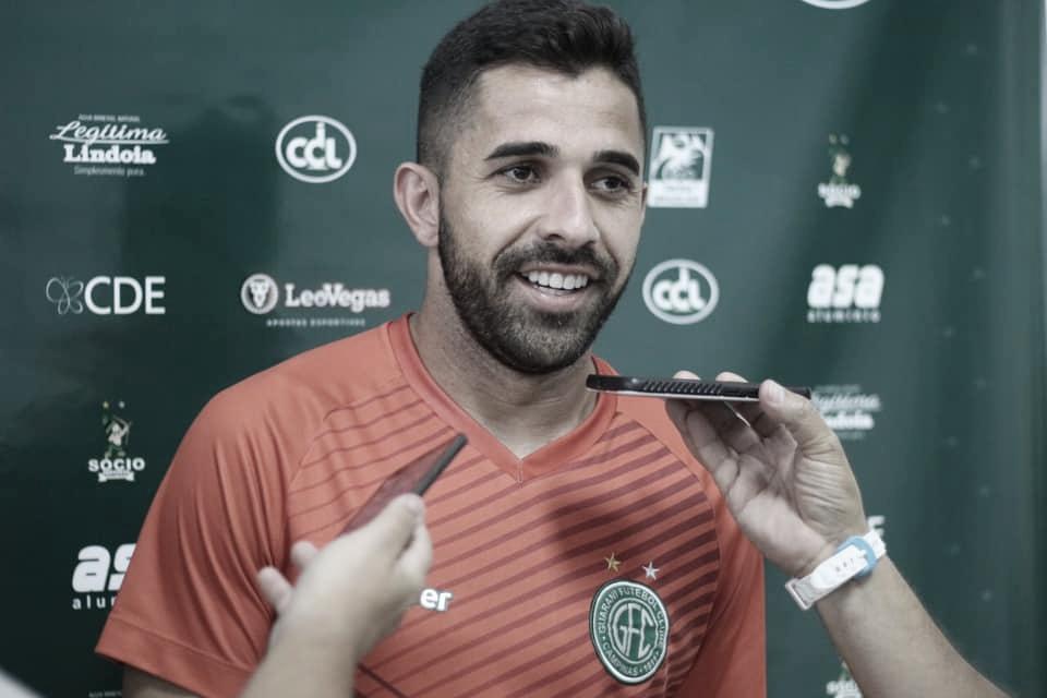 Lucas Abreu acredita no fator casa como fundamental para Guarani vencer Grêmio Novorizontino