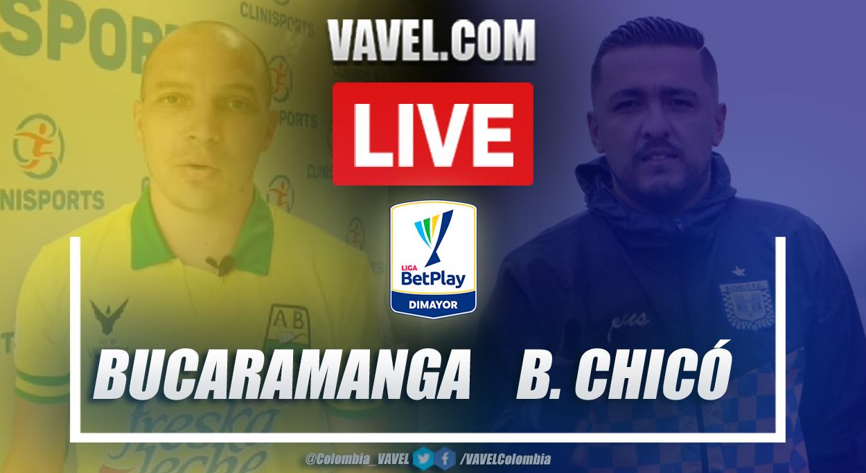 Resumen Bucaramanga vs Chicó (2-0) por la fecha 1 de la Liga BetPlay 2021-I