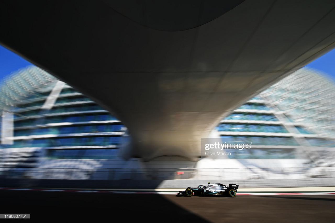 Abu Dhabi GP: Bottas quickest in FP2