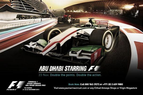 Descubre el Gran Premio de Abu Dhabi de Fórmula 1 2014