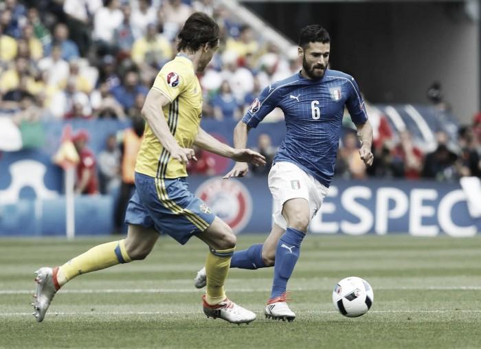 Euro 2016 - Italia, problema all'adduttore destro per Candreva
