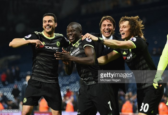 West Bromwich Albion 0-1 Chelsea: Super-sub Batshuayi clinches the title for Chelsea