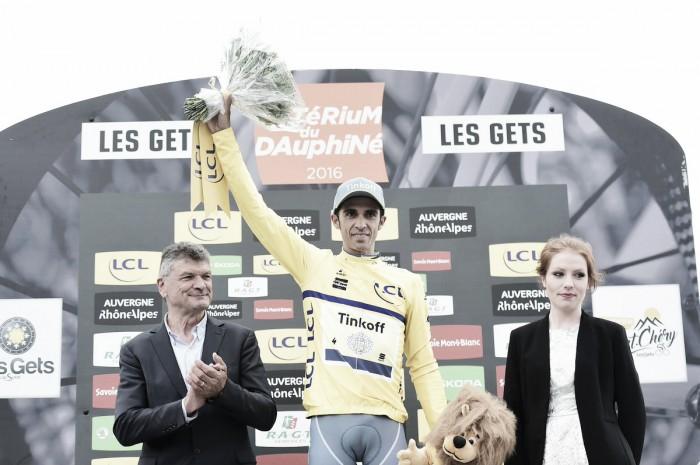 Giro del Delfinato, Contador vince il cronoprologo davanti a Porte e Froome