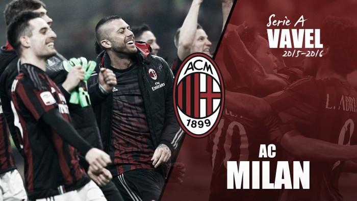 Resumen temporada 2015/2016 AC Milan: otro año más sin Europa