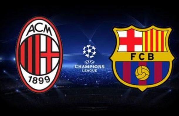 Live Barcelone - Milan, le match en direct