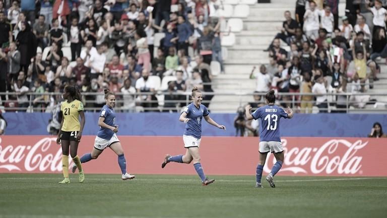 Gols e melhores momentos Jamaica 0x5 Itália pela Copa do Mundo de Futebol Feminino
