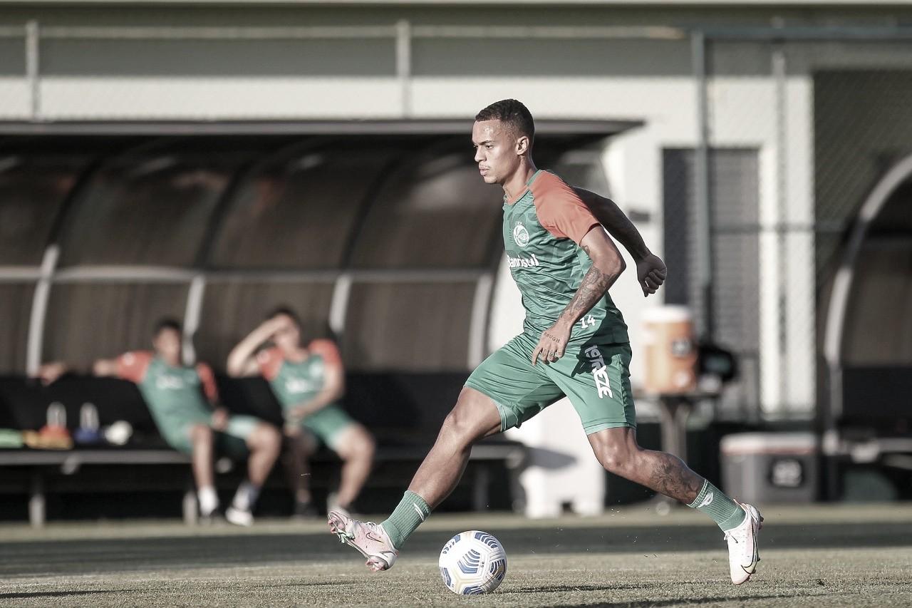 Bruninho trabalha para vencer o Palmeiras em casa