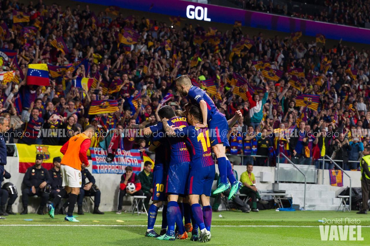 Resumen FC Barcelona 3-0 Levante UD en Copa del Rey 2018