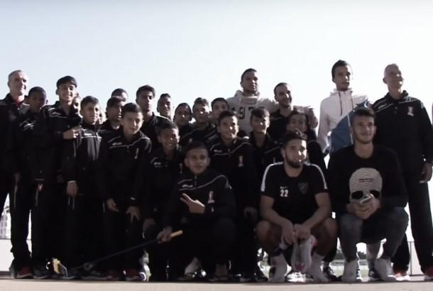 El Málaga CF recibe a la Academia de Fútbol Mohammed VI
