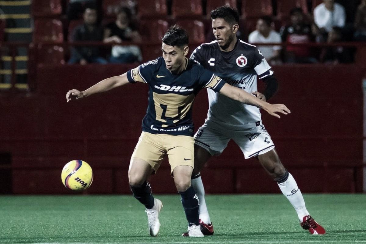 Pumas suma un nuevo empate en pretemporada ante Xolos