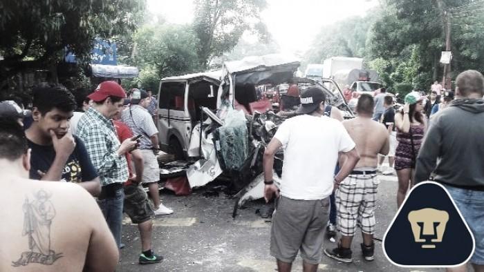 """Integrantes de la """"Rebel"""" sufren accidente regresando de Honduras"""