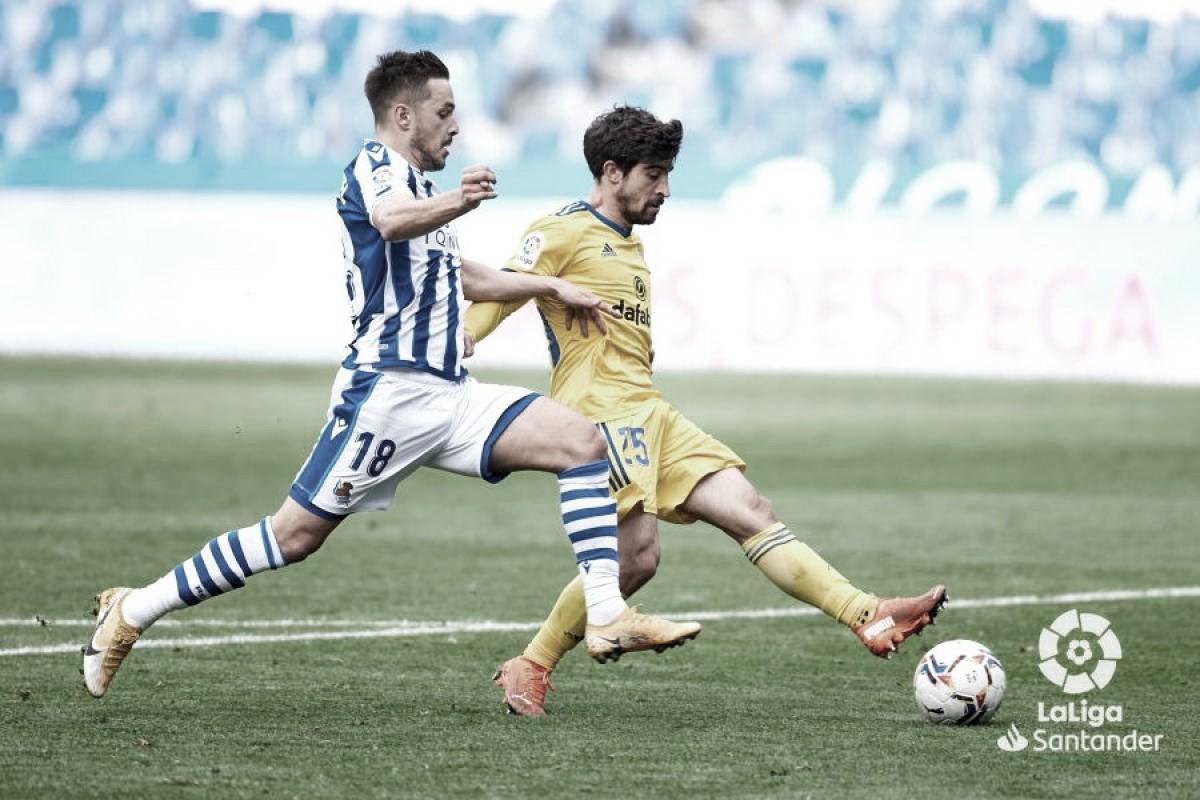 Jairo Izquierdo hace balance de la temporada del Cádiz CF