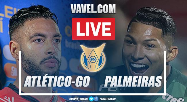 Gols e melhores momentos para Atlético-GO 0 x 3 Palmeiras pelo Campeonato Brasileiro