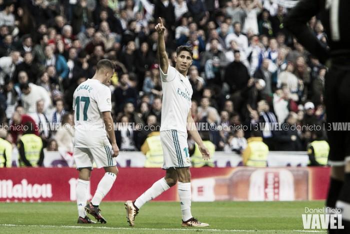 Achraf hace historia en el Real Madrid
