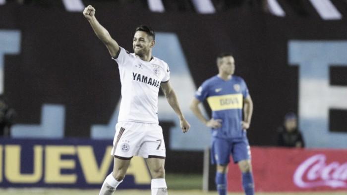 """Lautaro Acosta: """"Este Lanús juega más lindo que los anteriores"""""""