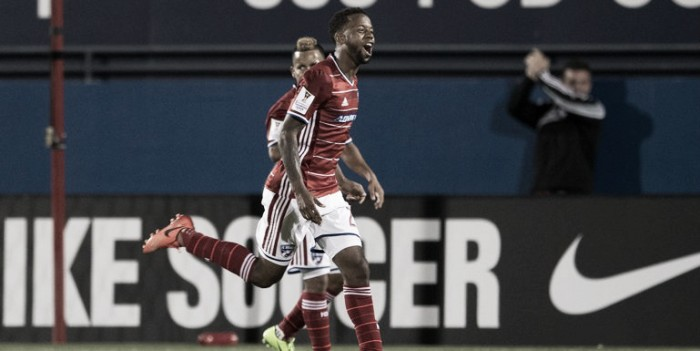 FC Dallas brushes Arabe Unido aside in the first leg of the CONCACAF Champions League quarterfinals, winning 4-0