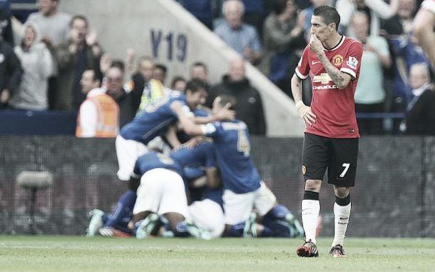 Leicester empurra Manchester United para um lugar sombrio