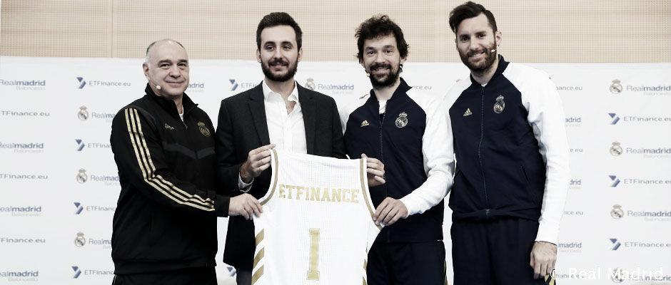 El Real Madrid presenta su acuerdo con ETFinance