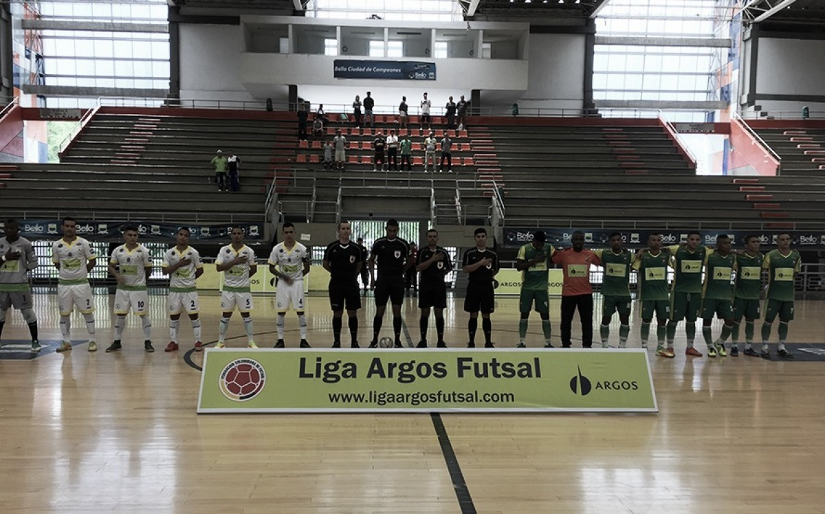 Comienzan los play-offs de la Liga Argos Futsal 2018-I