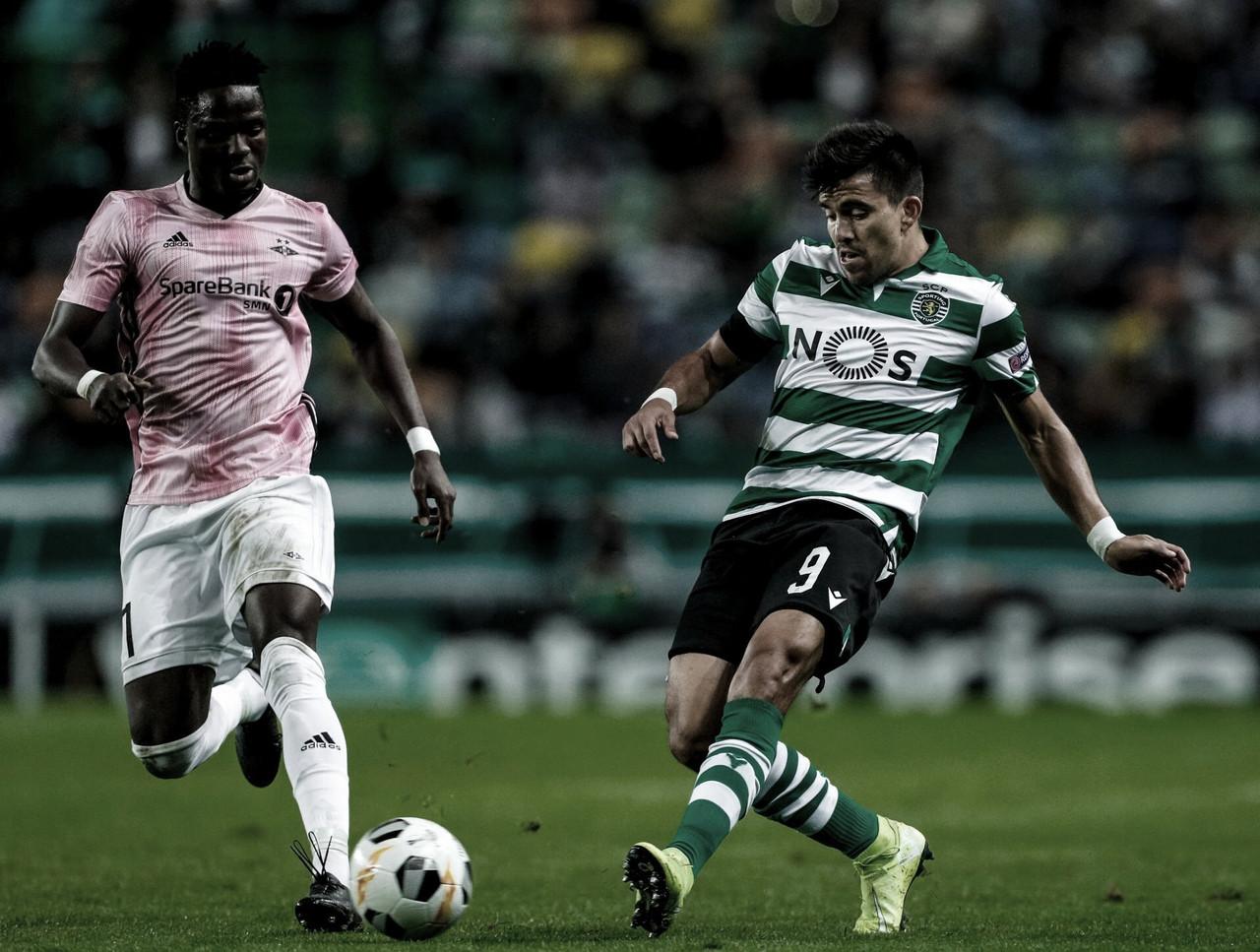 Em jogo morno, Sporting vence Rosenborg pela Europa League