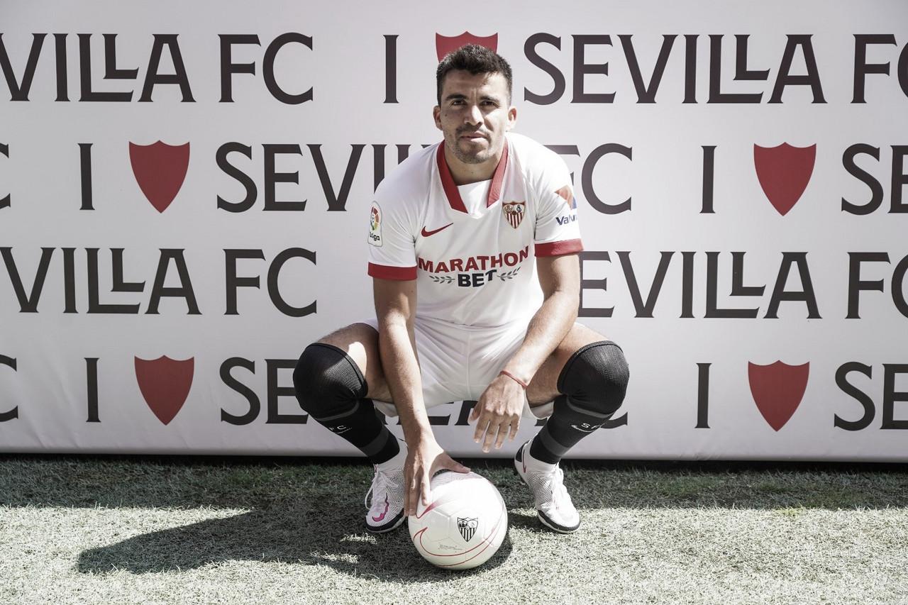 """Marcos Acuña: """"Venir al Sevilla es un cambio muy grande y quiero hacer lo máximo posible"""""""