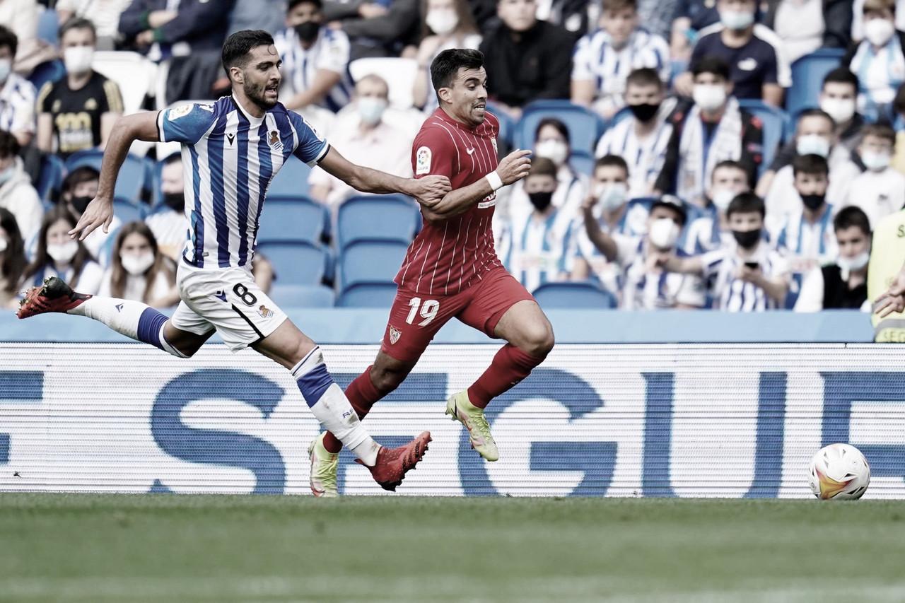 Análisis post: partido pobre de goles entre la Real Sociedad y el Sevilla